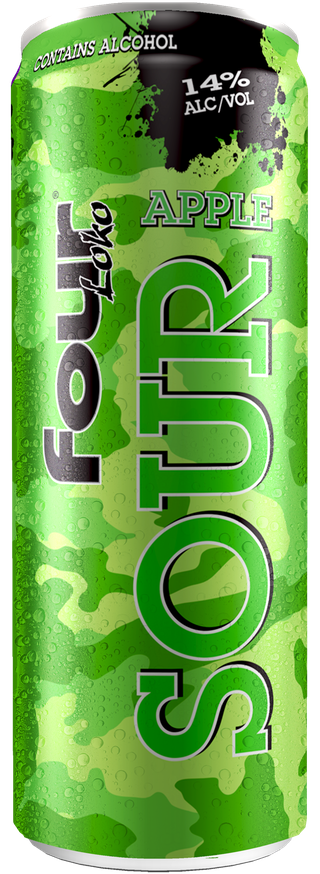 Four Loko Sour Apple