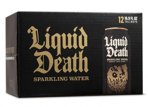 Liquid Death Sparkling Water