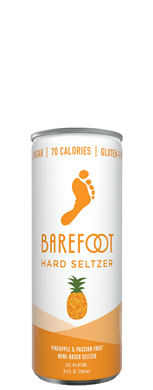Barefoot Hard Seltzer Pineapple Passionfruit