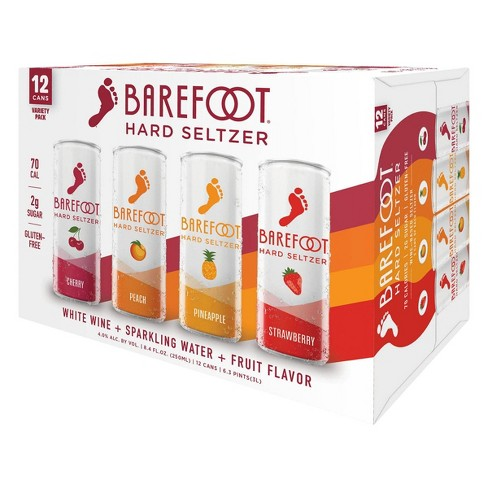 Barefoot Hard Seltzer Variety Pack 12Pk Can