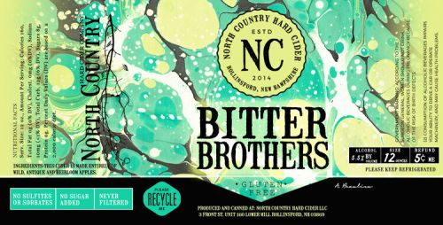 North Country Bitter Brothers Bourbon Barrel