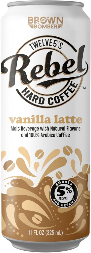 Rebel Hard Coffee Vanilla Latte