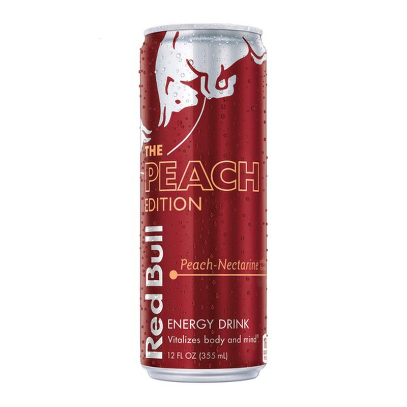 Red Bull Editions Peach