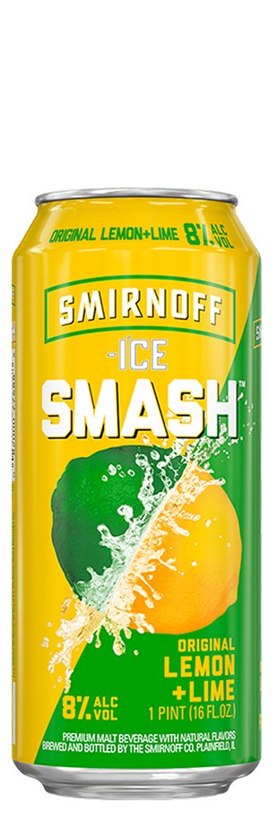 Smirnoff Smash Lemon Lime