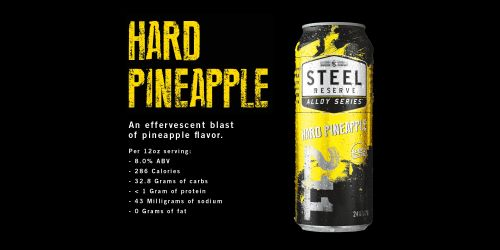 Steel Reserve Spiked Pineapple