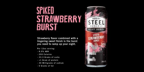 Steel Reserve Spiked Strawberry