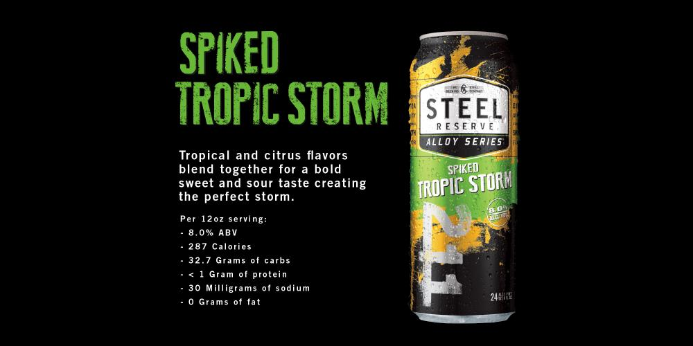 Steel Reserve Spiked Tropic Storm