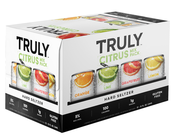 Truly Hard Seltzer Citrus Vty 12oz 2/12Pk Can