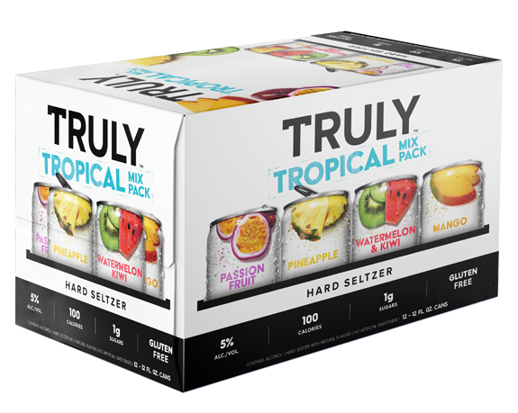 Truly Hard Seltzer Tropical Variety 12oz 2/12Pk Can