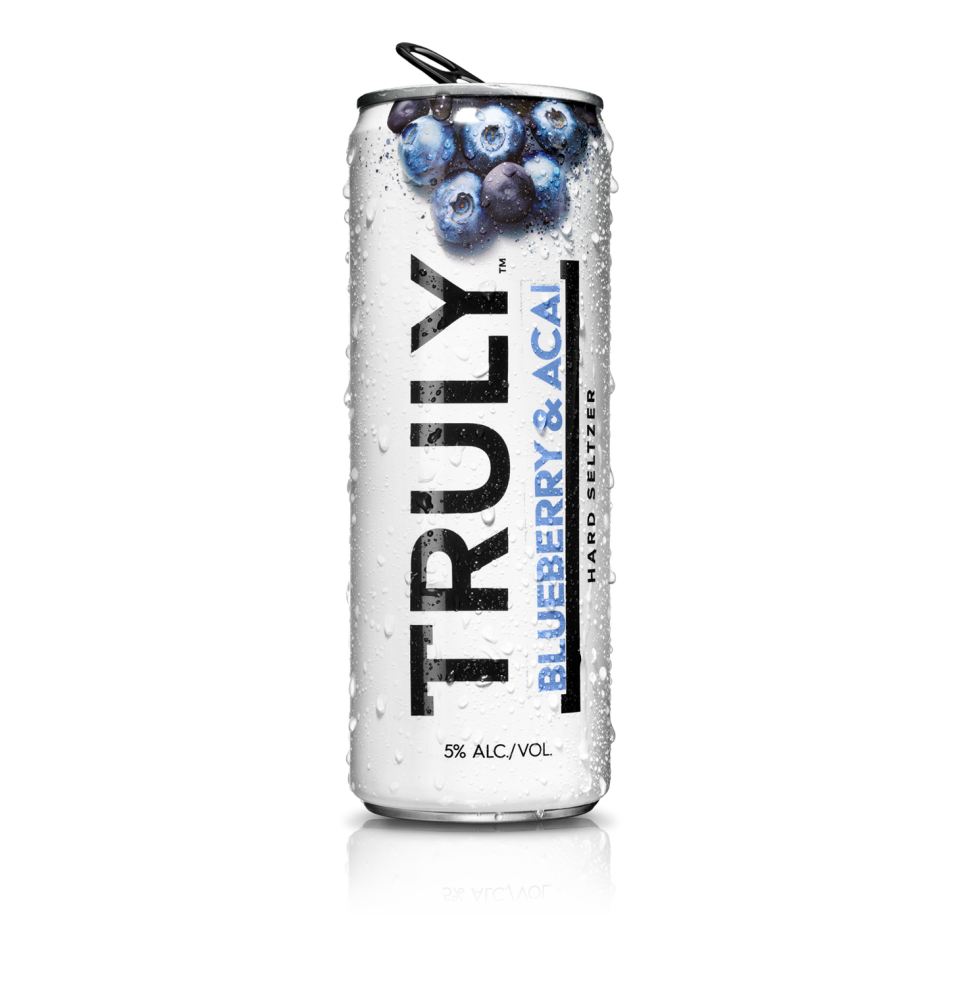 Truly Spiked Sparkling Blueberry & Acai