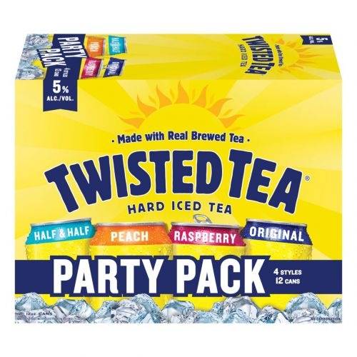 Twisted Tea Party Pack 12pk Can