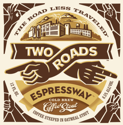 Two Roads Espressway Cold Brew Coffee Stout