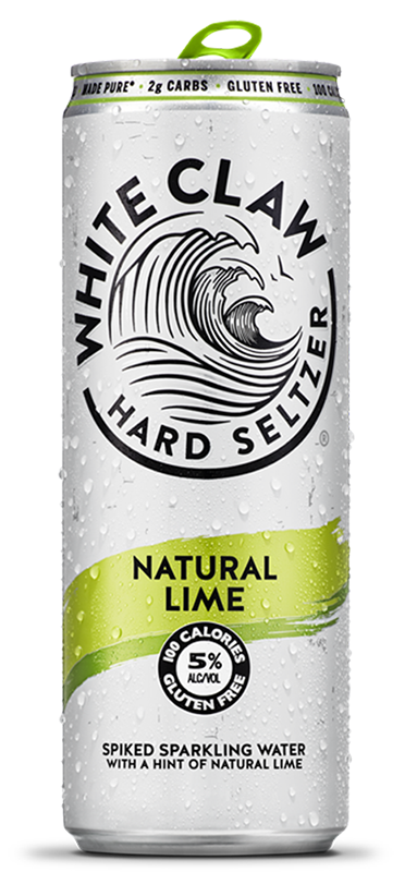 White Claw Lime Seltzer