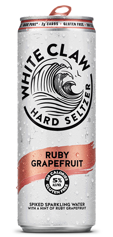 White Claw Ruby Red Grapefruit Seltzer