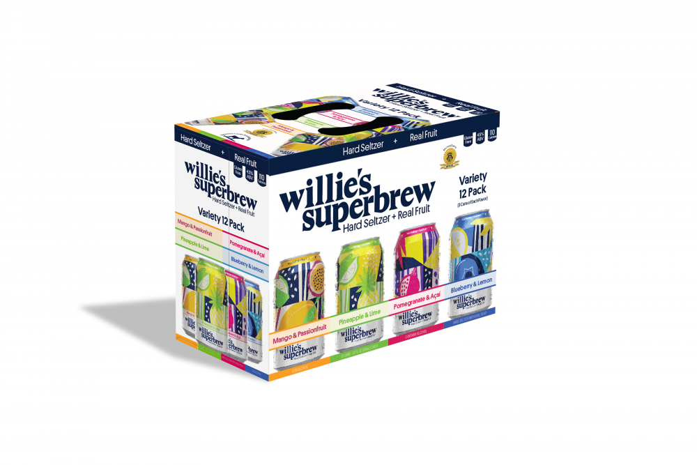 Willie's Superbrew Variety 12oz 2/12Pk Can