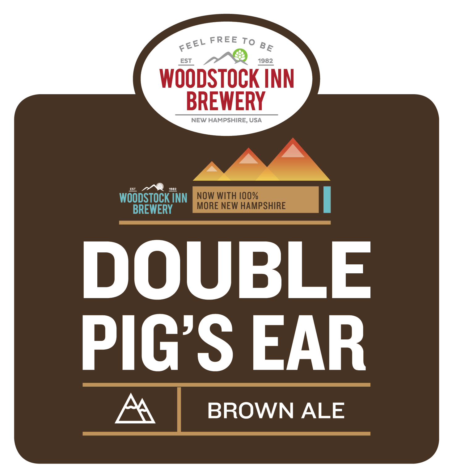 Woodstock Double Pigs Ear Brown Ale