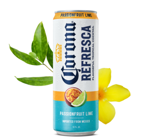Corona Refresca Passionfruit Lime